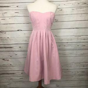 J. Crew Strapless Dress Size 14